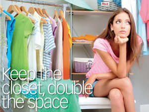 Kate Brown_Keep the closet double the space_Costco Connection